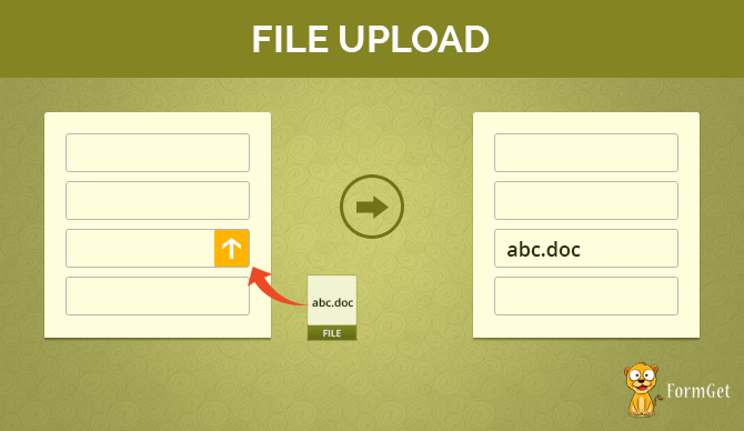 File upload-upload docs to your form