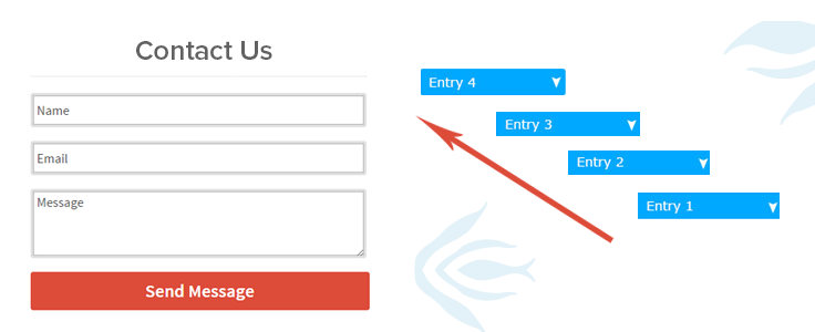 Steps To Receive Entry on Your Contact Form