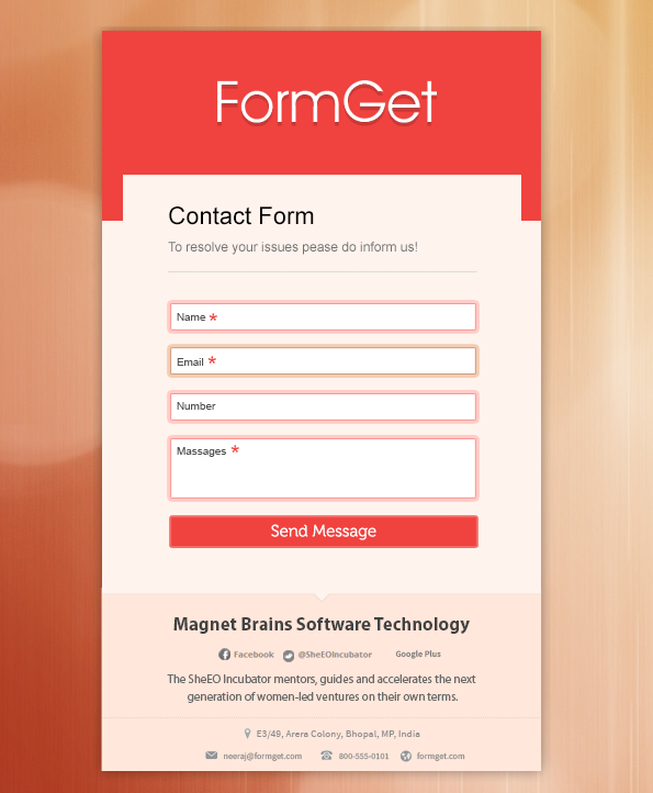 appealing-form-on-FormGet