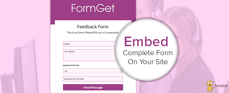 Embed Full Form Design On Your Website