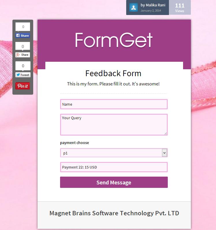 feedback-form