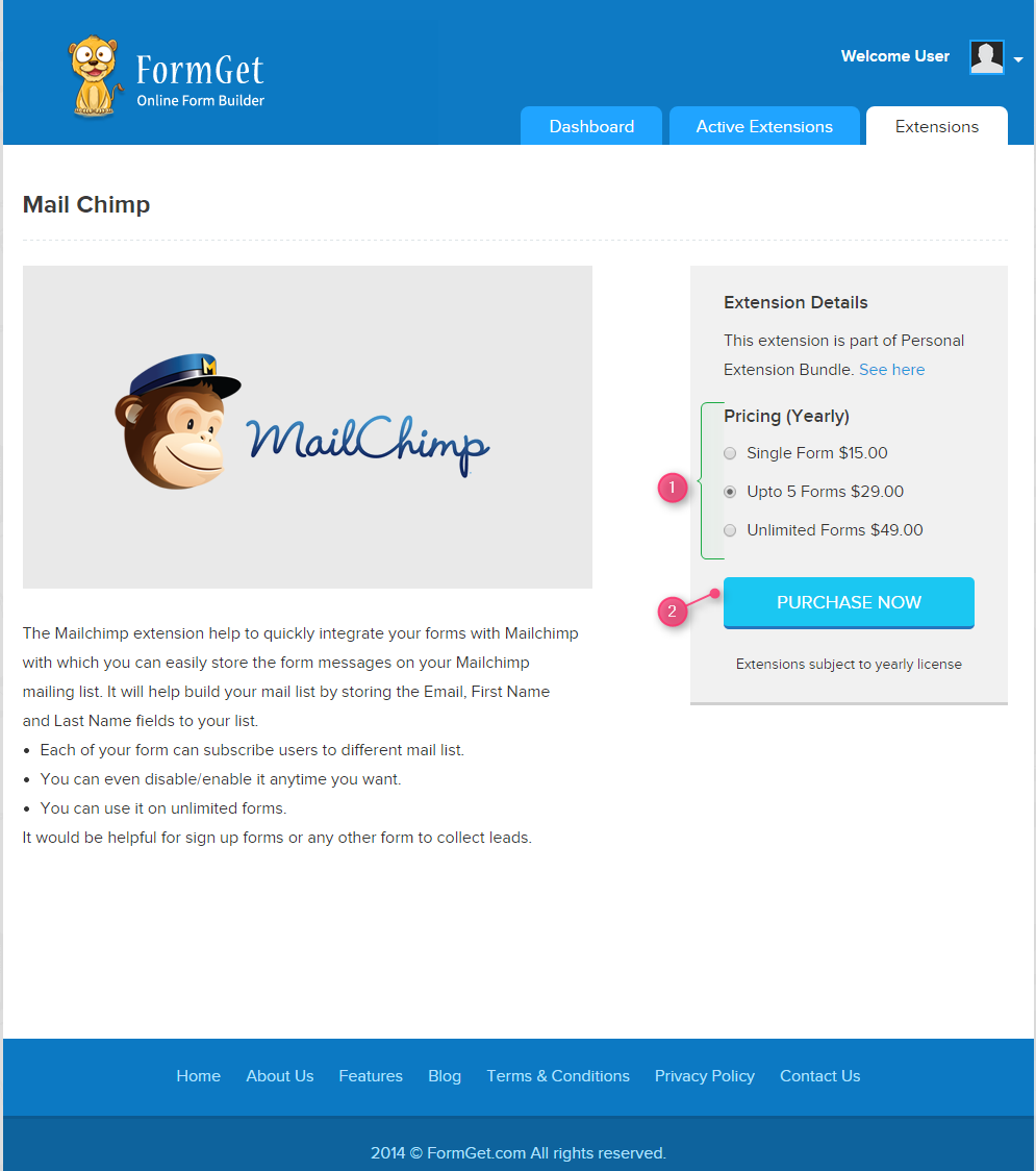 purchase-now-mailchimp-extension