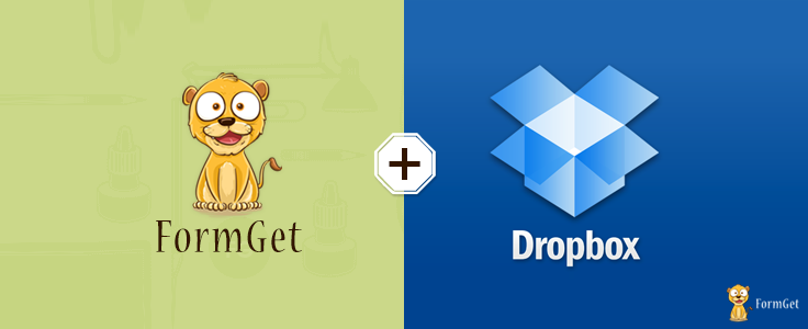 Form Dropbox Uploader in FormGet