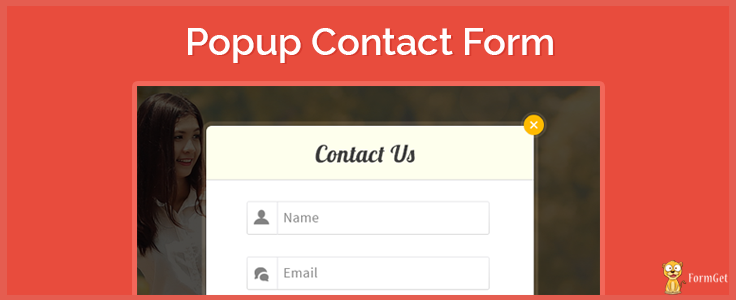 How To Create Pop-up Contact Form Using JavaScript | FormGet