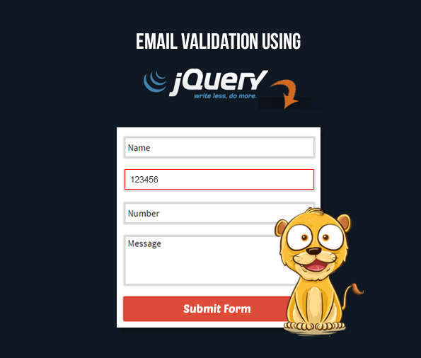 jquery email validation