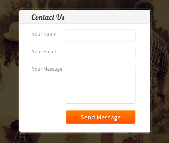 Create Simple Contact Form Using Javascript Formget