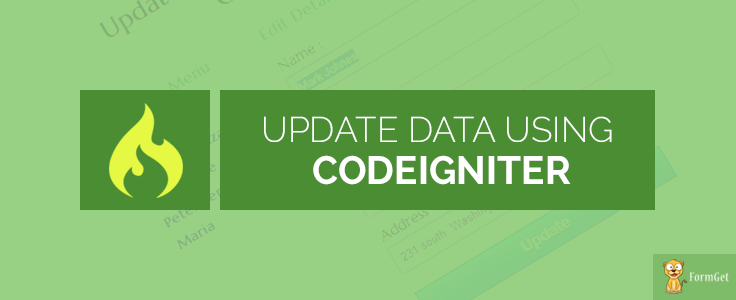 CodeIgniter Update Data In Database