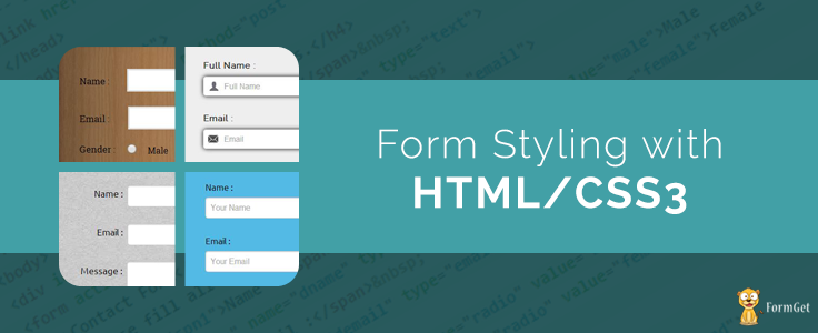 Form Styling with HTML/CSS3