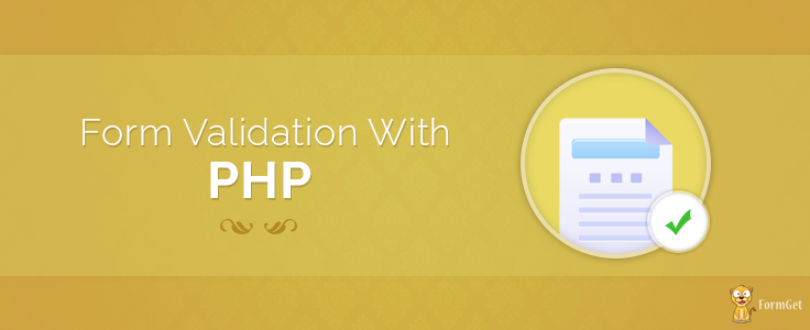Self validating forms php tutorial