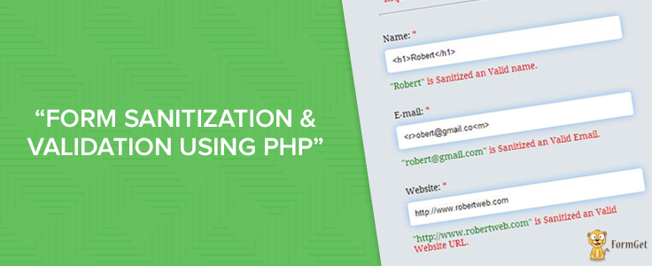 Validating inputs in php