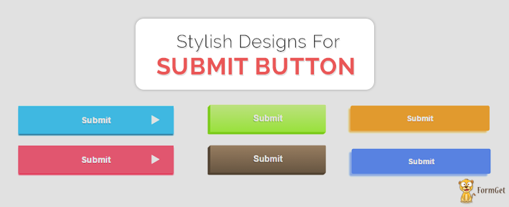 Stylish Designs For Submit Button