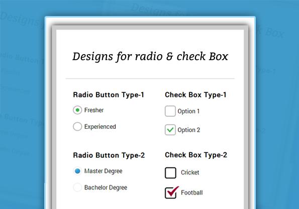 multiple css style checkbox