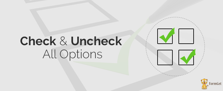 jQuery Uncheck/Check All Checkboxes | FormGet