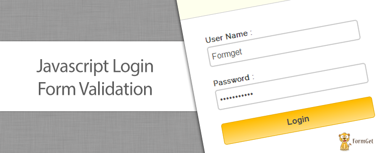 JavaScript Form Validation With Limit Login Attempts