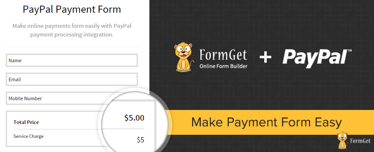 How To Make Payments PayPal-Integrated-Fast-Secure-Online-Payment-Form