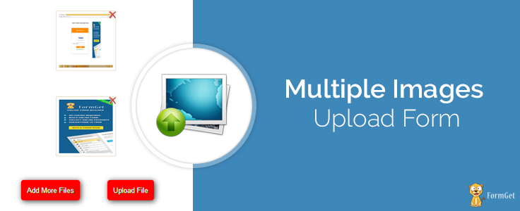 Upload Multiple Images Using PHP and jQuery | FormGet
