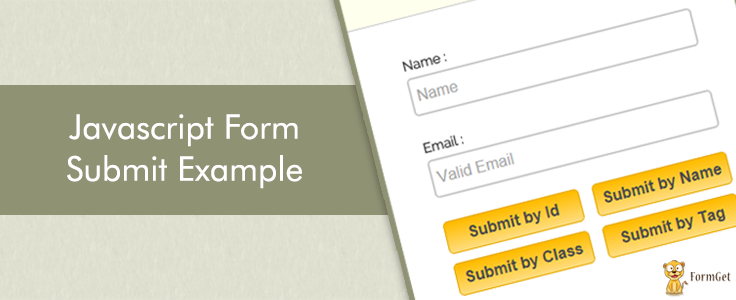 onclick JavaScript Form Submit