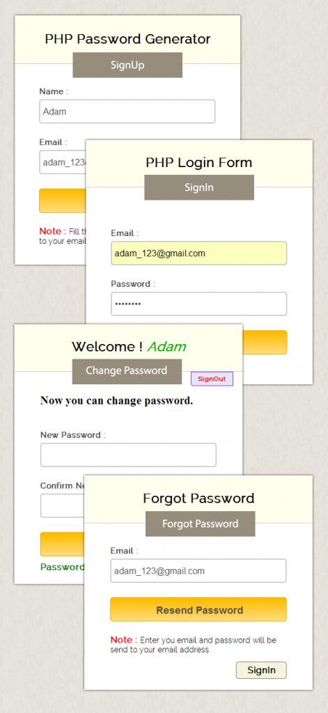php-password-generator