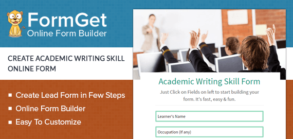 Academic Writing Skill Form Slider