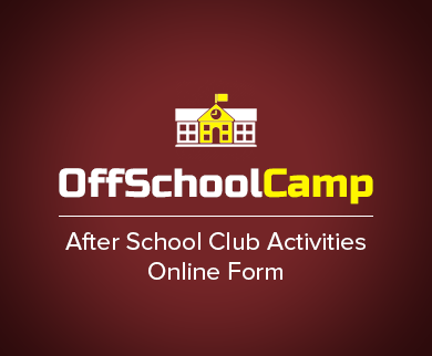 FormGet – Create After School Club Activities Form For Curricular Clubs & Schools