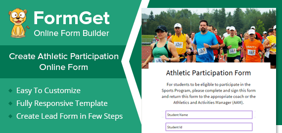 Athletic Participation Slider