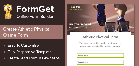 Athletic Physical Form Slider