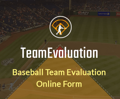 FormGet – Create Baseball Team Evaluation Form For Game Academies & Sports Training Centers