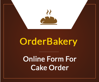 FormGet – Create Cake Order Form For Bakeries & Cake Shops