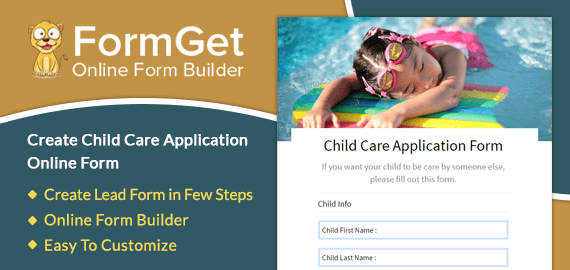 Child Care Application Slider