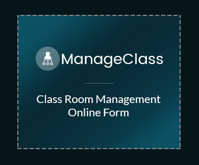 FormGet – Create Class Room Management Form For Coachings, Colleges & Classrooms