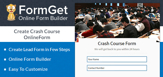 Crash Course Form Slider