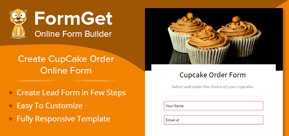 create cupcake order form for bakeries  u0026 cake shops