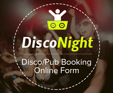 FormGet – Create Disco/Pub Booking Form For Party Halls, Hotels & Dance Bars