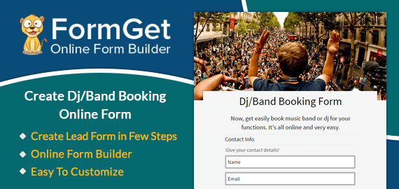 Dj/Band Booking Form