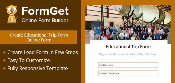 Educational Trip Form Slider
