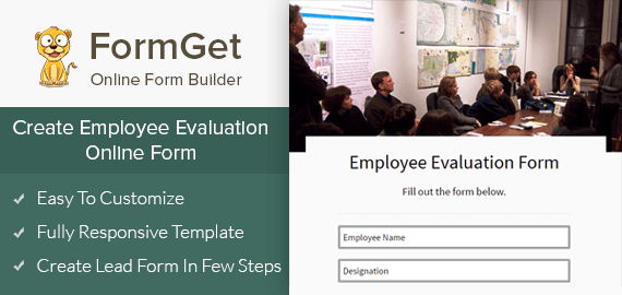 Employee Evaluation Form Slider
