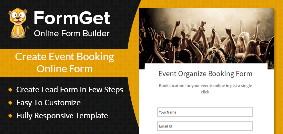 Event Booking Form Slider