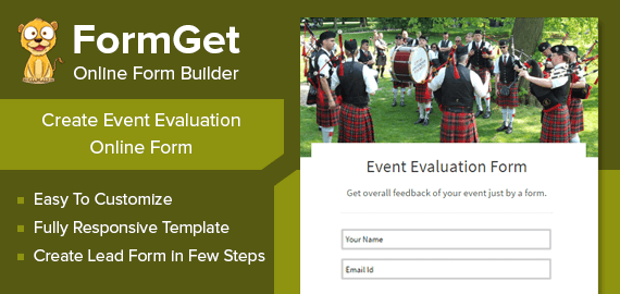 Event Evaluation Form Slider