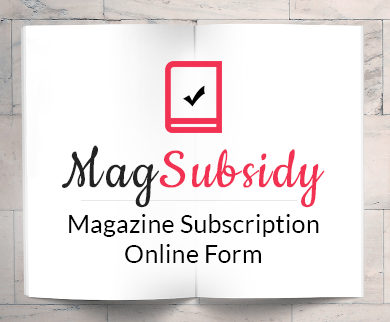 FormGet – Create Magazine Subscription Form For Publishing Houses