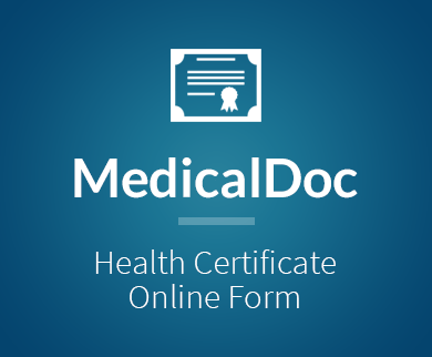 Health Certificate Form Thumb