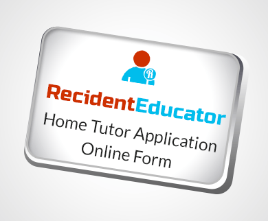 Home Tutor Application Form Slider