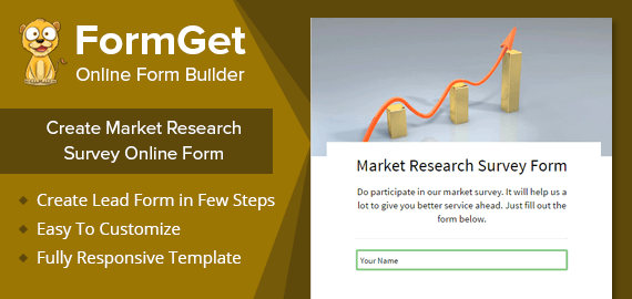 Market Research Survey Form Slider