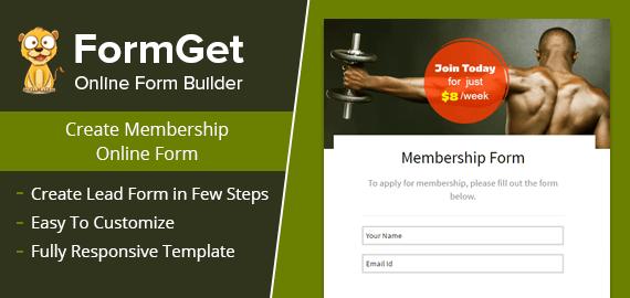 Membership Form Slider