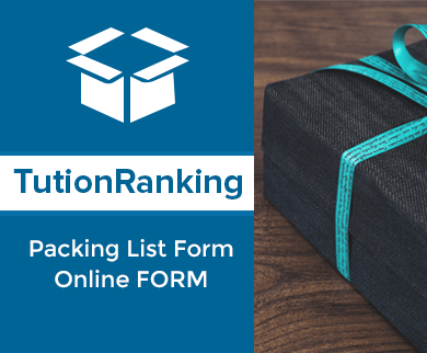 FormGet – Create Packing List Form For Vendors, Online Stores & Selling Businesses