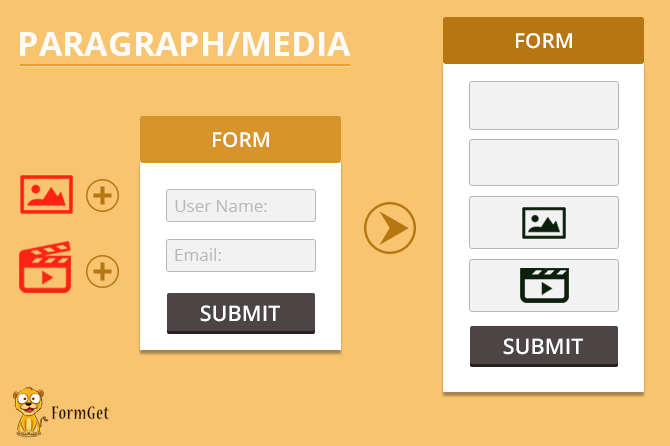 Paragraph-Media-make your form attractive