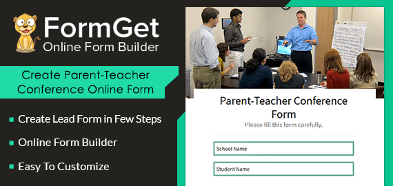 Parent-Teacher Conference Form Slider