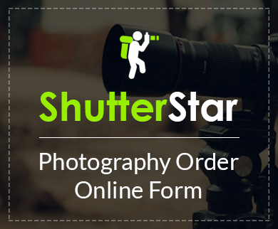 FormGet – Create Photography Order Form For Freelancers, Studios & Professional Photographers