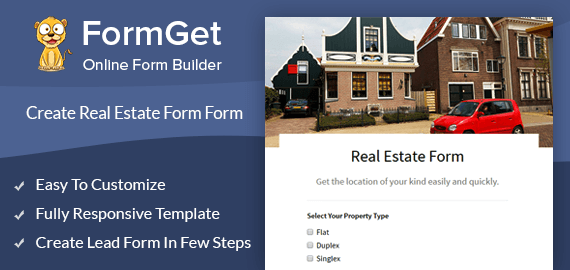 Real Estate Form Slider