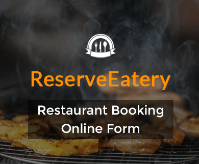 FormGet – Create Restaurant Booking Form For Lounges, Hotels & Restaurants