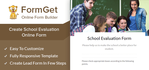 School Evaluation Form Slider